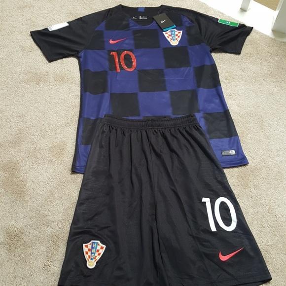 new arrival 37c39 20e6d Luka Modric Croatia World Cup Jersey & Shorts NWT